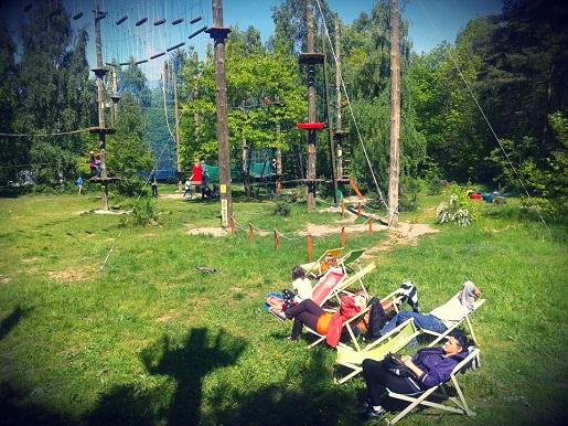 park linowy gdańsk gdzie z dzieckiem atrakcje opinie