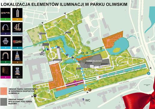 rodzinne atrakcje dla dzieci gdańsk iluminacje park oliwski opinie