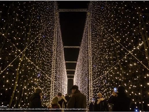 park oliwski czas z dzieckiem w gdańsku iluminacje atrakcje dla dzieci opinie