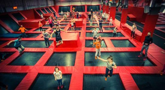 park trampolin Warszawa opinie rodzinne atrakcje