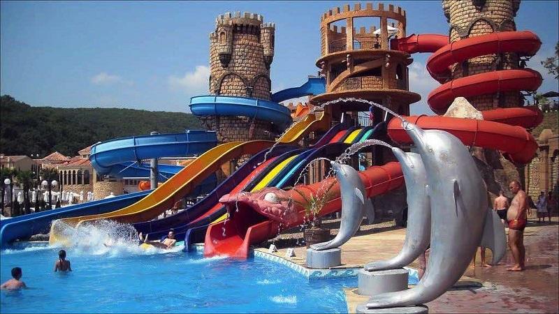 park wodny Bułgaria gdzie na wakacje 2019 z dzieckiem Neckermann