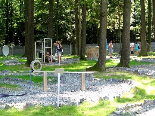 park zywiolow Zaginione Miasto Rosenau cennik dojazd opinie