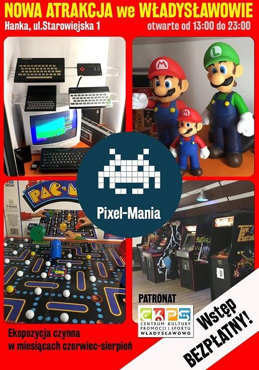 pixel mania władysławowo atrakcje stare gry