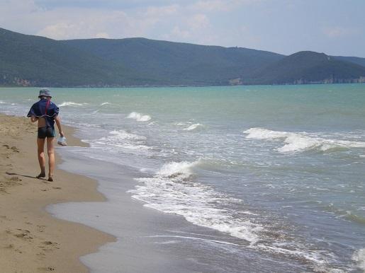 plaża Albarese Toskania-Parco Naturale Della Maremma