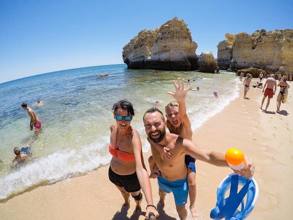 plaże Wybrzeże Algarve, Portugalia opinie zdjęcia