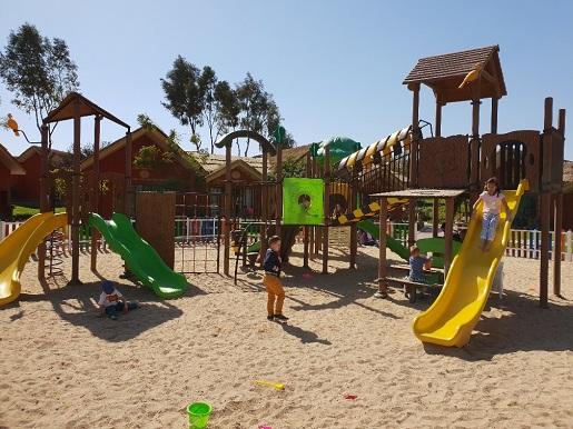 plac zabaw dla dzieci Jungle Aquapark Resort
