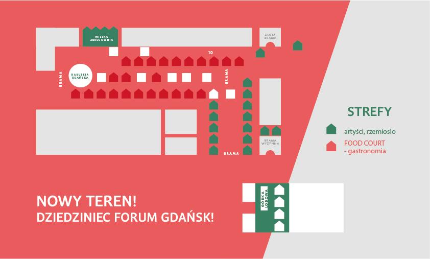 plan jarmark bożonarodzeniowy Gdańsk 2018 program