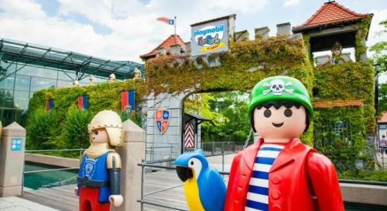rodzinny park rozrywki Playmobil Niemcy