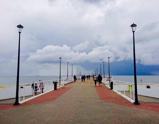 plaża Gdańsk Brzeźno Molo opinie atrakcje