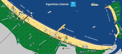 atrakcje dla dzieci plaże Gdańsk