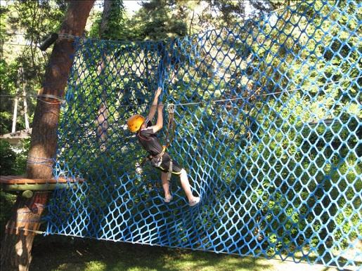 pobierowo z dzieckiem atrakcje park linowy