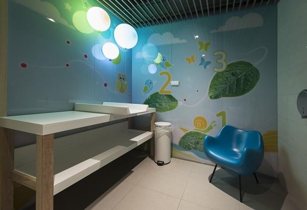 pokój rodzica do karmienia dzieci centrum handlowe Gdańsk Morena Galeria