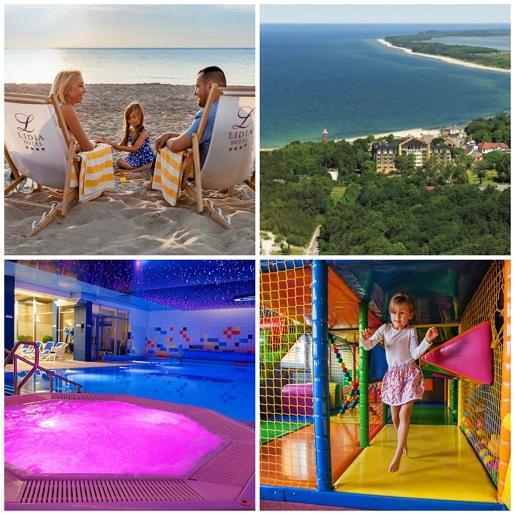polecane hotele dla rodzin z basenem morze góry mazury