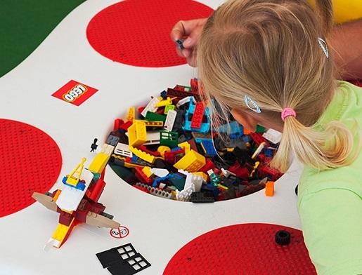Łebskie Klocki Łeba wystawa klocków Lego łeba rodzinne atrakcje opinie