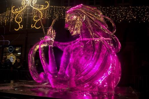 poznań atrakcje Jarmark Świąteczny Betlejem Festiwal lodu
