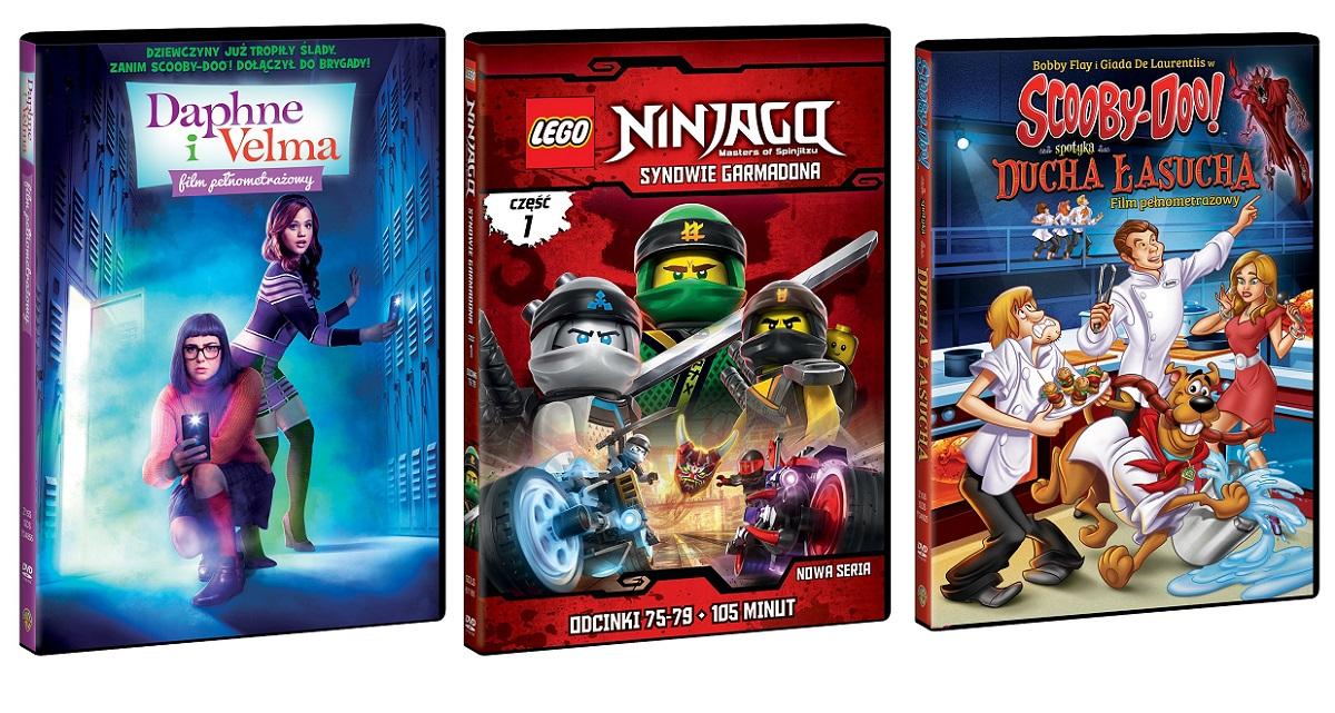 3 Premiery Lego Ninjago Daphne I Velma Scooby Doo