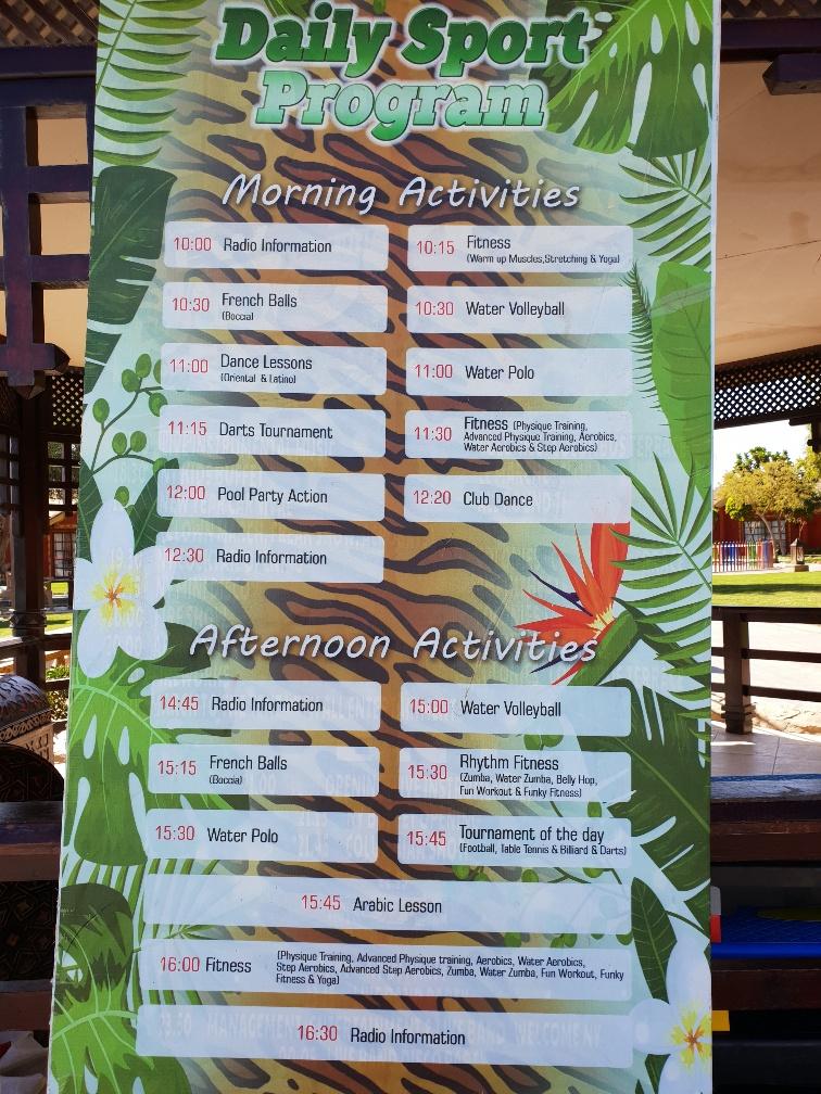 program animacji jungle aquapark resort egipt hurghada zdjęcia opinie