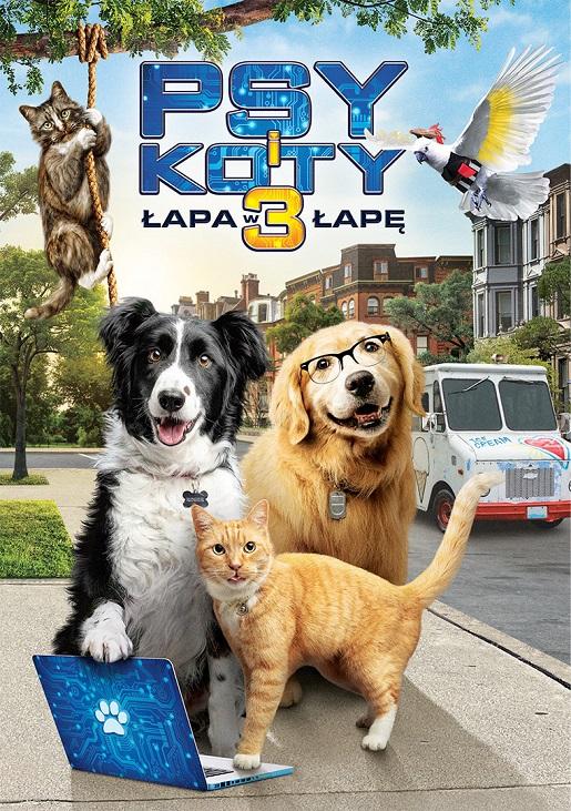 psy i koty premiera dvd dla rodzin z dziećmi okładka