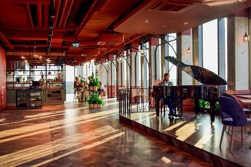 restauracja Olivia Star TOP taras punkt widokowy opinie ceny