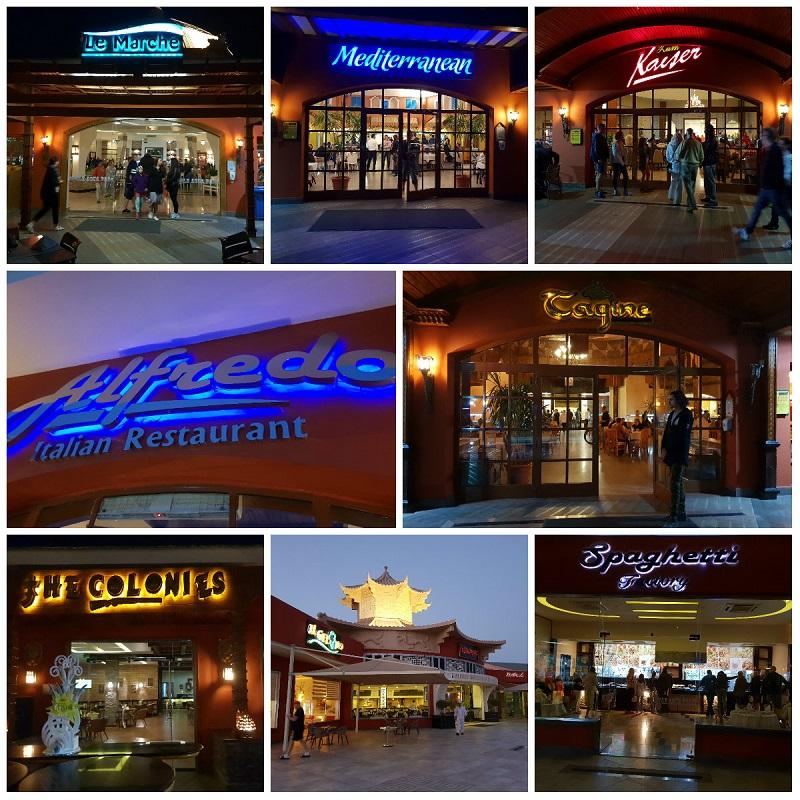 restauracje jedzenie jungle aquapark hurghada hotel opinie