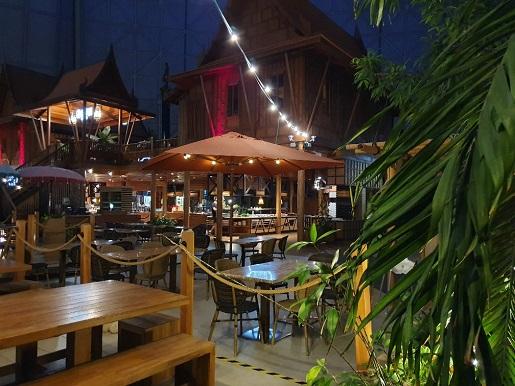 restauracje tropical islands opinie jedzenie ceny