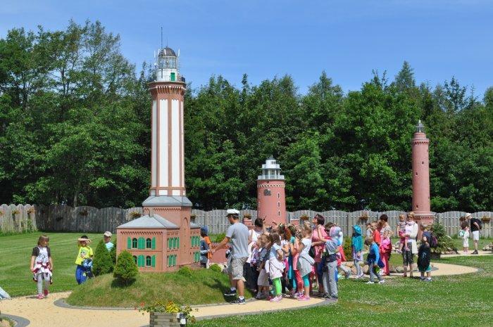 rewal atrakcje dla dzieci gdzie z dzieckiem park latarni morskich niechorze opinie ceny bilety wstęp