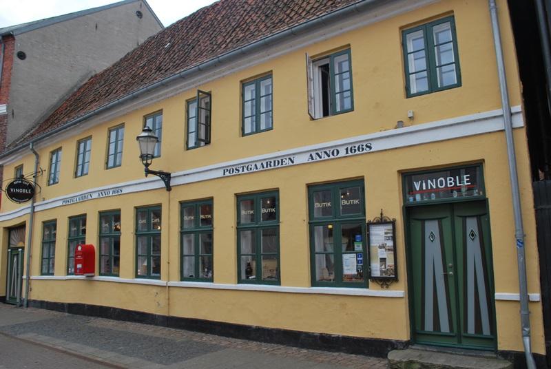 Ribe zwiedzanie atrakcje Dania