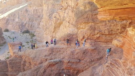rodzinna wycieczka pustynia Izreal atrakcje Czerwony Kanion Ejlat opinie