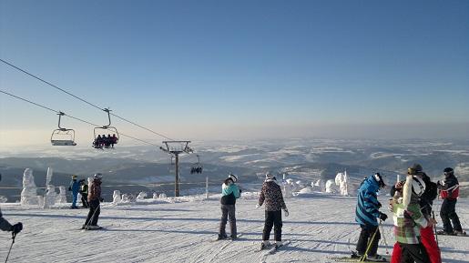 atrakcje dla dzieci w Rokytnicach wyciąg narciarski Czechy wiosną opinie