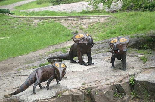 kotlina dinozaurów rodzinne atrakcje dla dzieci zoo silesia chorzów opinie