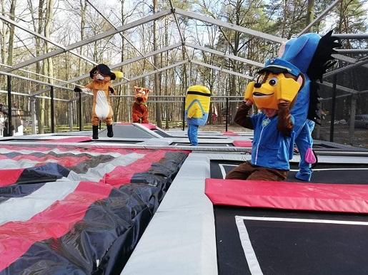 park trampolin atrakcje dla dzieci warszawa dzielnica filmowa opinie
