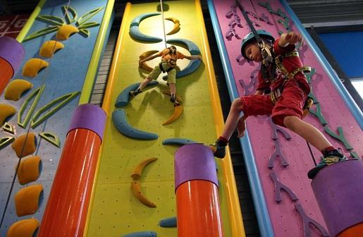 rodzinne atrakcje ścianka wspinaczkowa dla dzieci w gdańsku opinie