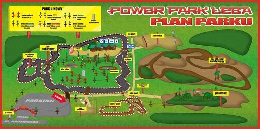 rodzinny park rozrywki łeba power park opinie atrakcje dla dzieci ceny