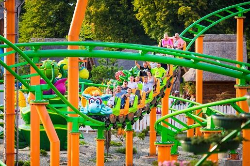 roller coaster dla dzieci Energylandia 2018