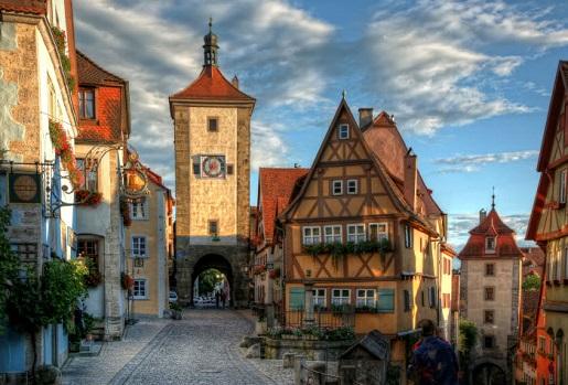 rothenburg tauber najlepsze atrakcje niemcy