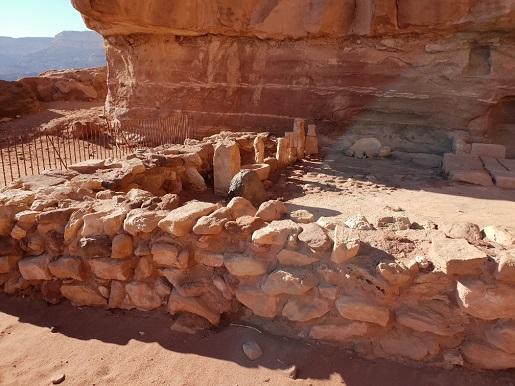 ruiny świątyni timna park zwiedzanie atrakcje