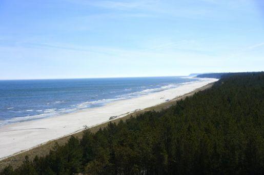 Dębki Wieża Widokowa przy plaży opinie
