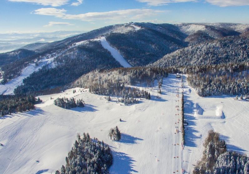 słotwiny arena najlepsze miejsca na narty z dziećmi