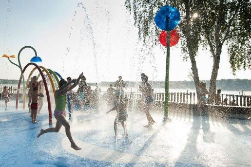 śląsk gdzie na weekend z dzieckiem śląsk atrakcje dla dzieci wodny plac zabaw paprocany tychy