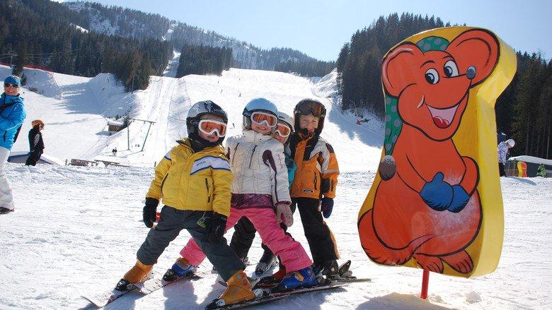 narty z dzieckiem Austria