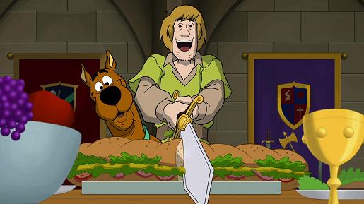 scooby doo i legenda miecza premiera dvd dla rodzin z dziećmi 3