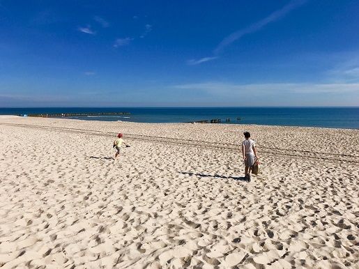 seaside Poland best spots for families where to go beaches