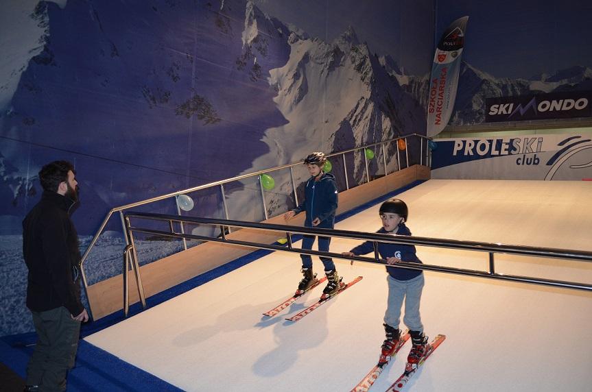 sztuczny stok narciarski Gdańsk