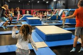 park trampolin Zielona Góra atrakcje dla dzieci