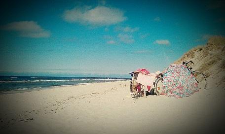 małe ciche miejscowości nad morzem Bałtykiem spokojne