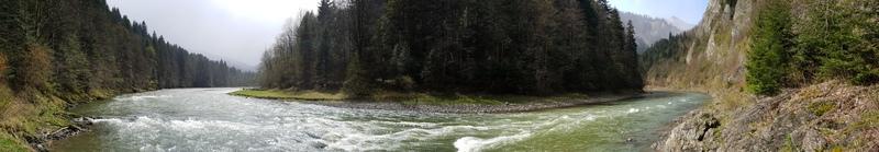 spływ kajakowe trasy Pieniny