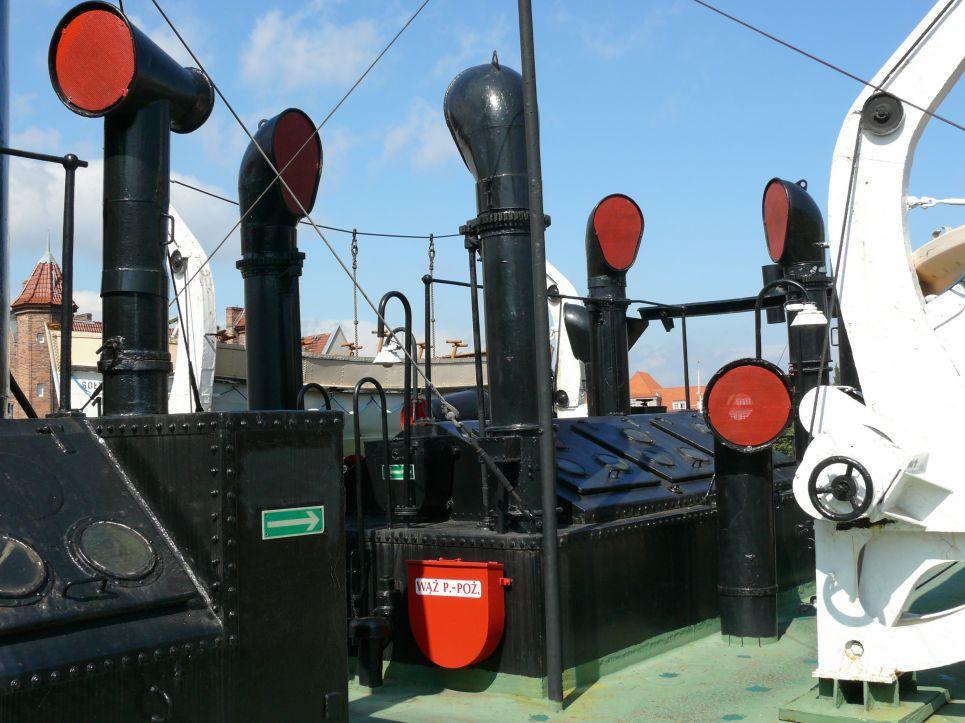 Narodowe Muzeum Morskie Oddział Sołdek zwiedzanie