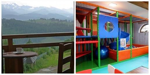 sylwester w górach z dzieckiem 2020 Bukowina Tatrzańska gdzie Pensjonat z atrakcjami dla dzieci