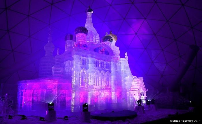 tatrzańska świątynia lodowa 2020 2021 Słwacja tatry Hrebeniok
