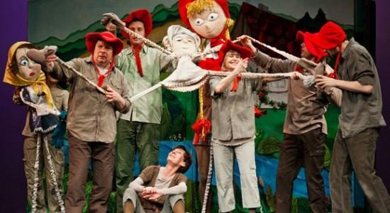 Teatr Miniatura Gdańsk przedstawienia dla dzieci